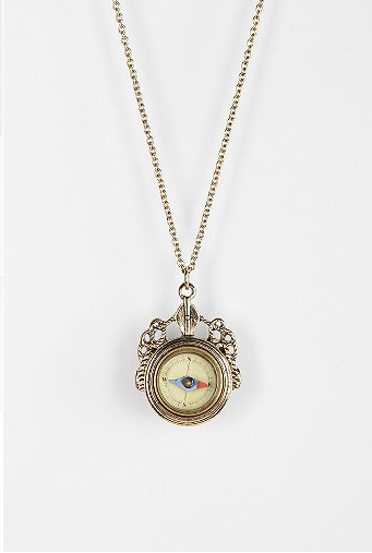 Urban Outfitters Compass Necklace